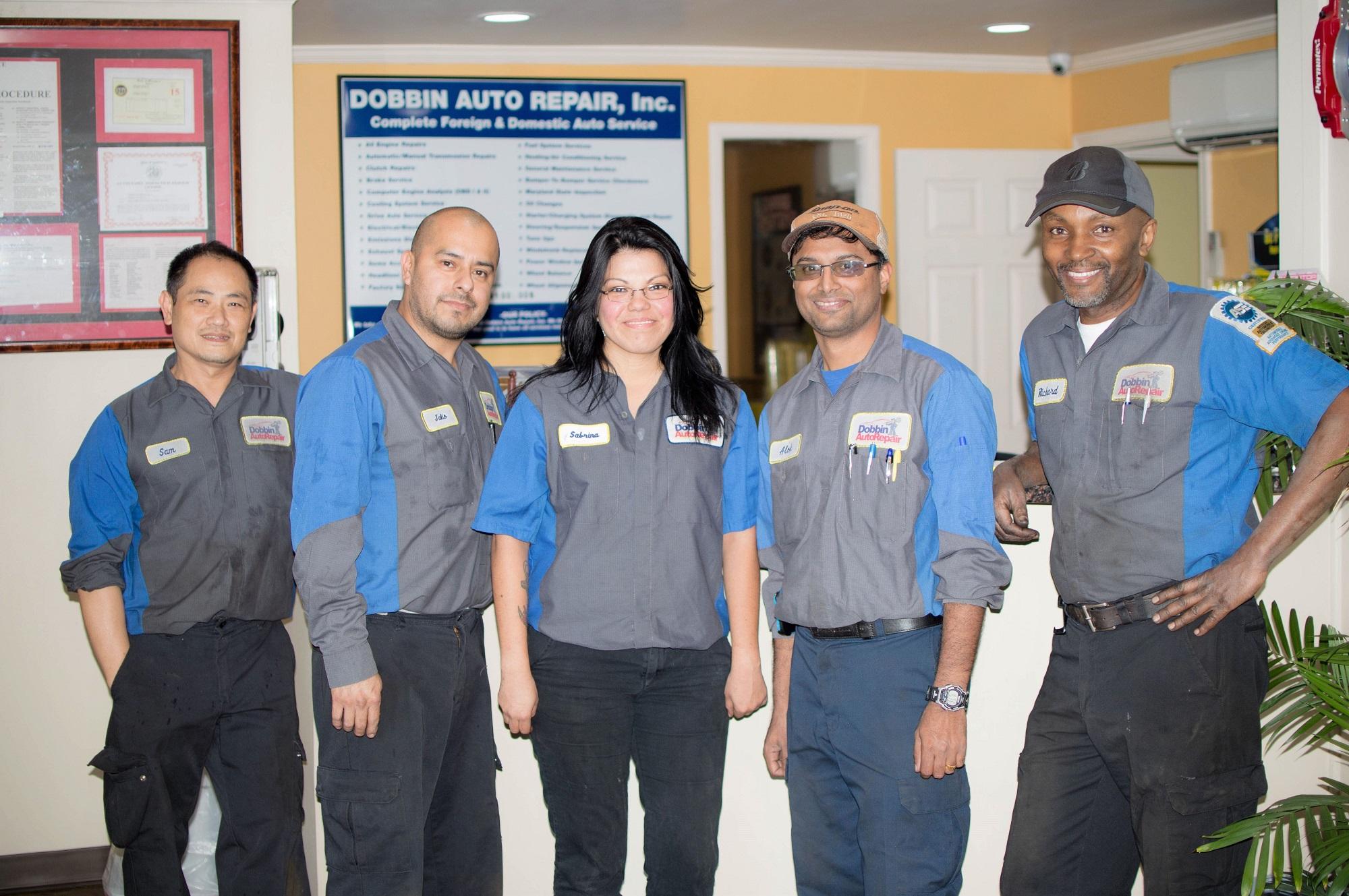 Dobbin Auto Repair Team with Richard-min